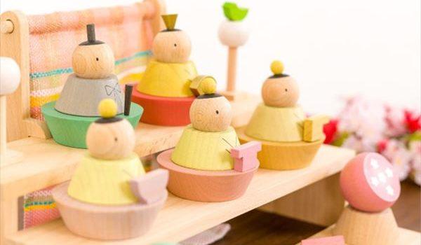 遊べる雛人形